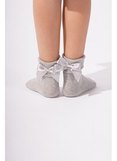 Katia & Bony Newyork Çocuk Soket Çorap  Gümüş